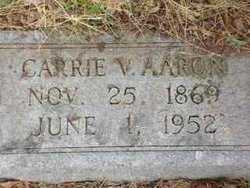 Carrie V Aaron