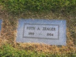 Ruth Anna <i>Mitchell</i> Zeager