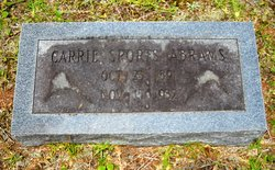 Carrie Louise <i>Sports</i> Abrams