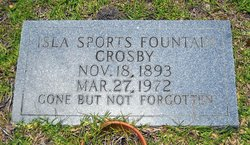 Isla McKenzie <i>Sports</i> Crosby