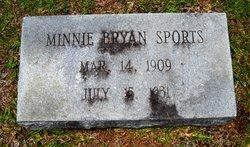 Minnie Lee <i>Bryan</i> Sports