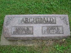 Anna Barbara <i>Crile</i> Archibald