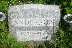 Susanne Elizabeth <i>Wilson</i> Anderson