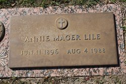 Annie <i>Mager</i> Lile