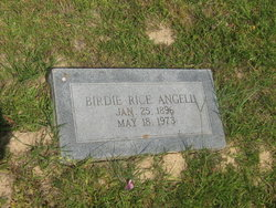 Birdie Anora <i>Rice</i> Angell