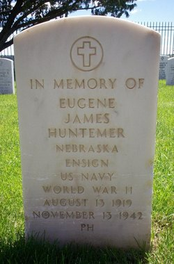 Ens Eugene James Huntemer