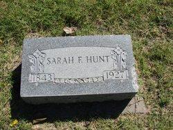 Sarah Francis <i>Fowler</i> Hunt