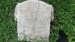 Nellie Leona <i>Brantley</i> Boston
