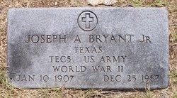 Joseph A Bryant, Jr