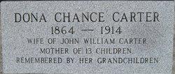 Dona <i>Chance</i> Carter