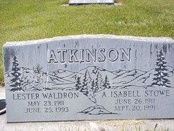 A. Isabell <i>Stowe</i> Atkinson