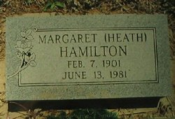 Margaret Susan <i>Heath</i> Hamilton