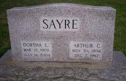 Dortha Lovell <i>Daniel</i> Sayre