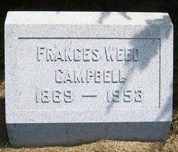 Frances <i>Weed</i> Campbell