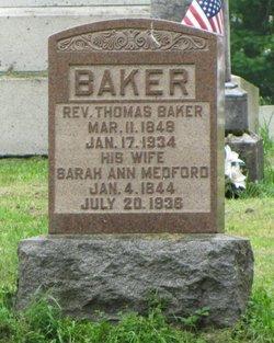 Rev Thomas Baker