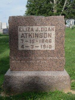 Eliza J <i>Gregory</i> Atkinson