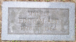 Edith M <i>Burnett</i> Alt