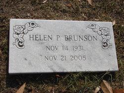 Helen P Brunson