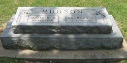 Matthew Hartley Hudson