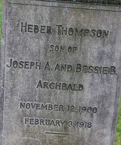 Heber Thompson Archbald