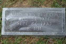 Audry WMS. Rich Cox