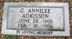 Annilee G <i>Low</i> Adkisson