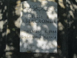 Lillie Bell <i>Tinker</i> Abercrombie