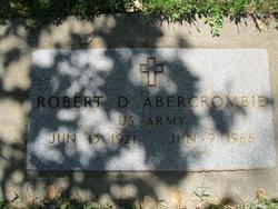 Robert Donald Abercrombie