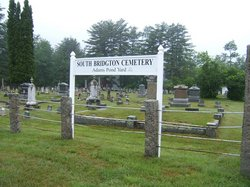 South Bridgton Cemetery