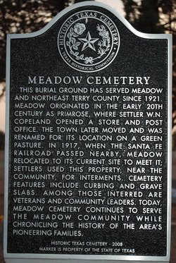 Meadow Cemetery