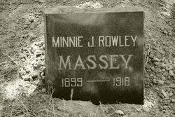 Minnie Josephine <i>Rowley</i> Massey