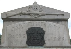16th Michigan Infantry Monument