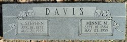 Minnie Maunell <i>Merrell</i> Davis