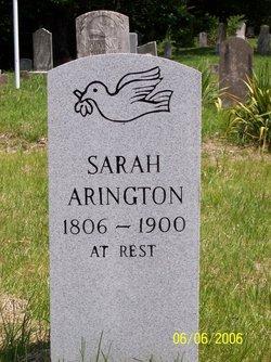 Sarah <i>Edwards</i> Arrington
