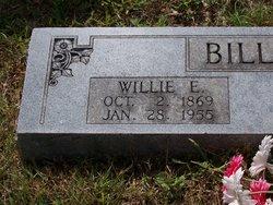 William Edwin Willie Billings