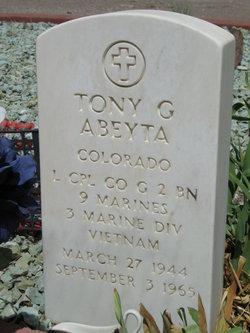 LCpl Tony Genevevo Abeyta