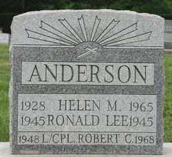 LCpl Robert Carl Anderson