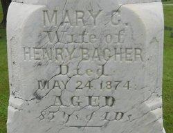 Mary Christina <i>Glick</i> Bacher