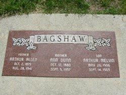 Arthur Allen Bagshaw