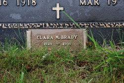 Clara M <i>Wisdom</i> Brady