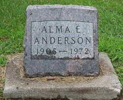 Alma E Anderson