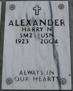 Harry N Alexander