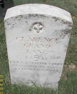 Clarence Grand Lang