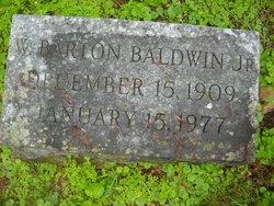 W. Barton Baldwin, Jr