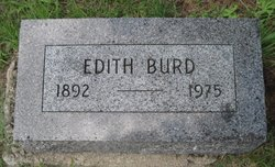 Edith <i>LaForce</i> Burd