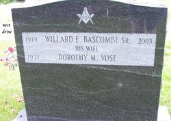 Dorothy M <i>Vose</i> Bascombe, Sr