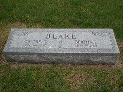 Walter George Blake
