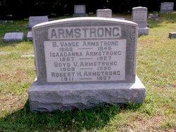 Benjamin Vance B Vance Armstrong