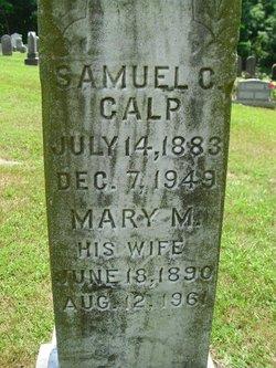 Mary M Calp