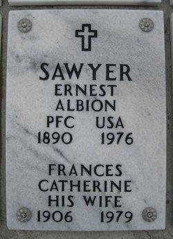 Frances Catherine <i>Morgenstern</i> Sawyer